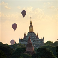 6 Days Myanmar - Bagan & Yangon temples private journey