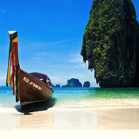 Privates Longtail Boot vom Aonang Beach nach Railay und vice versa